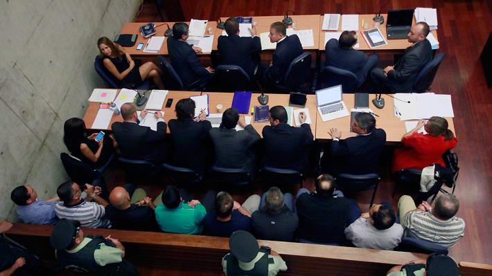 Fiscalía solicita prisión preventiva para los imputados por el fraude en Carabineros