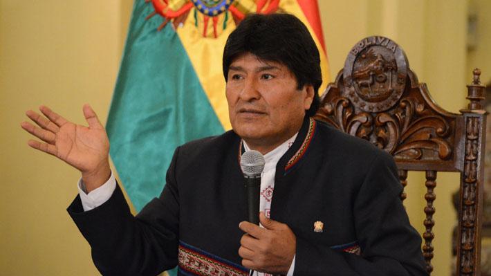 Evo Morales asegura que incidente con militares en la frontera fue en territorio boliviano
