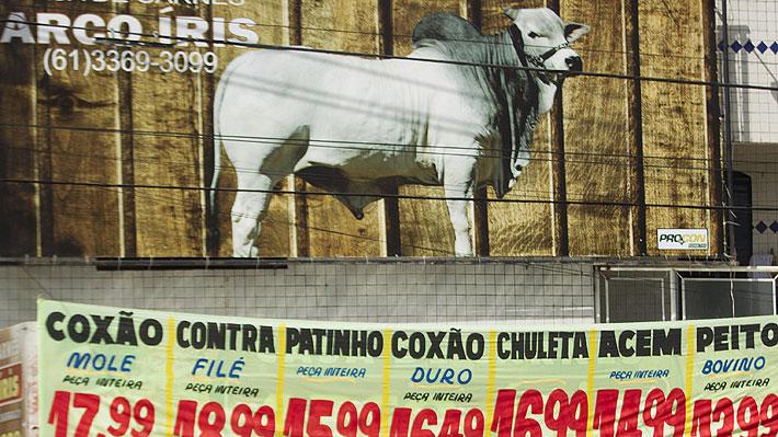 ¿Puede influir el escándalo de la carne de vacuno en Brasil en los precios en Chile?