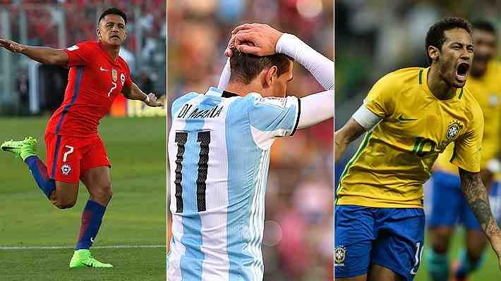 Argentina en repechaje y Chile cuarto: Así quedó la tabla de las Clasificatorias tras la decimocuarta fecha