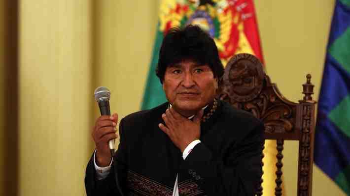 Evo Morales admite que su enfermedad en la garganta empeora