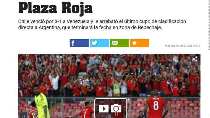 """Así lo vio el mundo: """"Chile demostró que es uno con Vidal y otro sin él"""", pero """"le faltó poco para acabar pidiendo la hora"""""""
