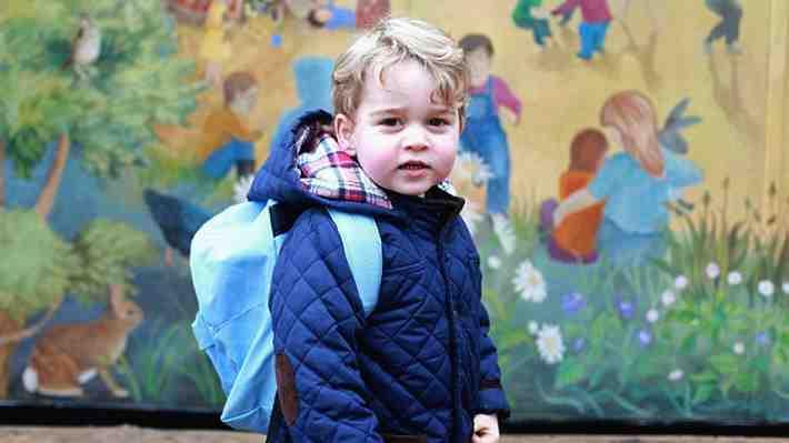 Duques de Cambridge rompen la tradición familiar: Conoce el colegio en el que se educará al príncipe George