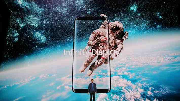 [VIDEO 360°] Así fue el anuncio del Galaxy S8, el nuevo smartphone de Samsung