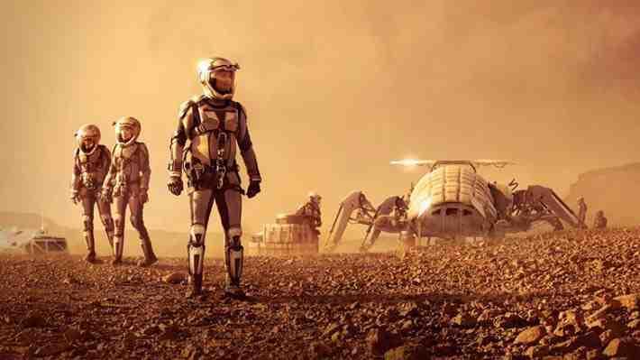 ¿Cómo será la nave que colonizará Marte? Descúbrelo en 360°
