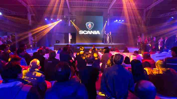 Scania inaugura sucursal en Rancagua