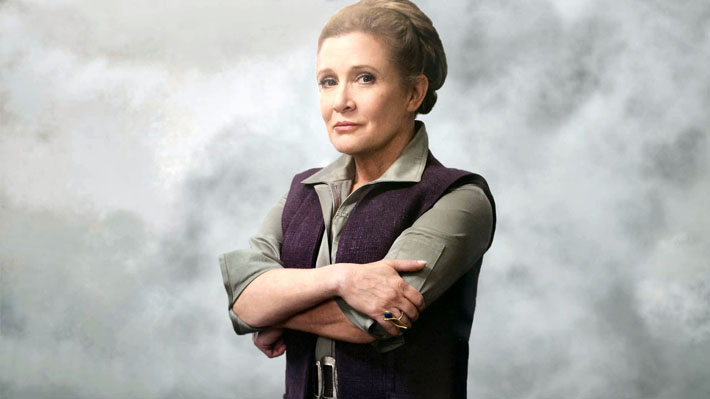 Lucasfilm confirma que Carrie Fisher no estará en episodio IX de