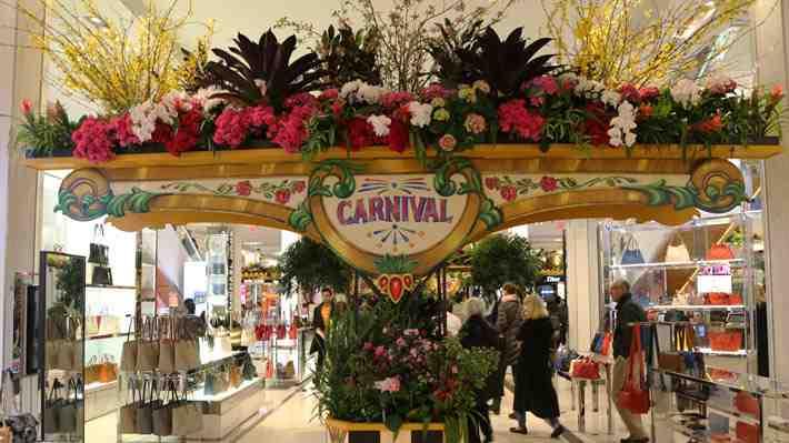 Disfruta en 360° del festival de las flores de Macys