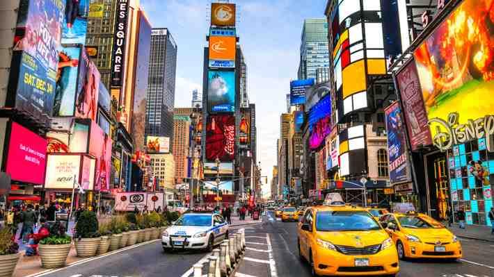 [VIDEO 360°] Mira como luce Times Square un día cualquiera