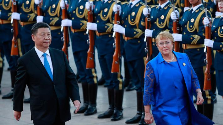 Los diez acuerdos suscritos entre Chile y China para mejorar el comercio y el apoyo bilateral en turismo, ciencia e inversiones