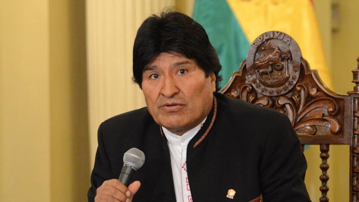 Morales dice Chile actúa