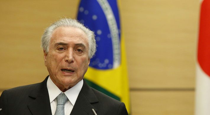 Presidente de Brasil niega que haya avalado el soborno del polémico diputado Eduardo Cunha