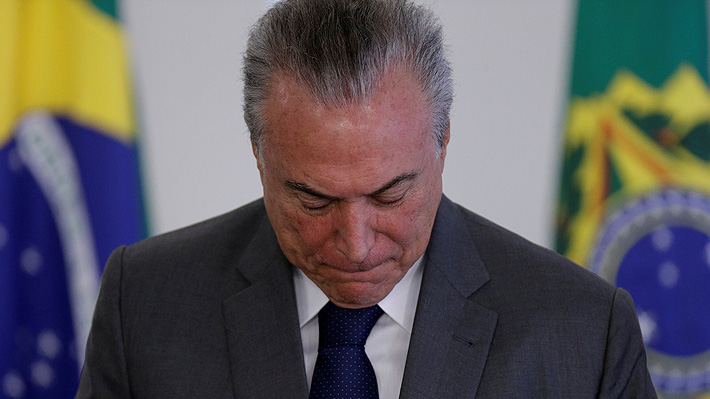 En tiempo real: Michel Temer asegura que no renunciará a la Presidencia tras escándalo