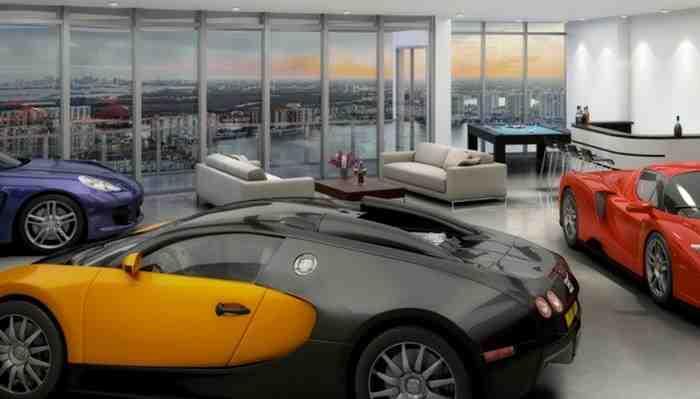 Inauguran edificio de departamentos con estacionamiento junto al living: el más barato cuesta US$ 6,3 millones