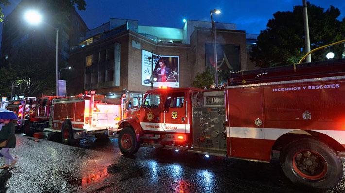 Al menos tres muertos y 11 heridos en explosión en centro comercial de Bogotá