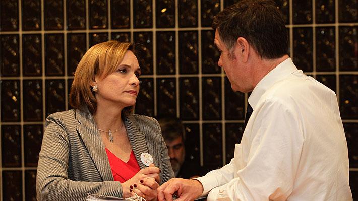 Goic dialoga con Ossandón y refuerza gestos para conseguir apoyo de adherentes del senador