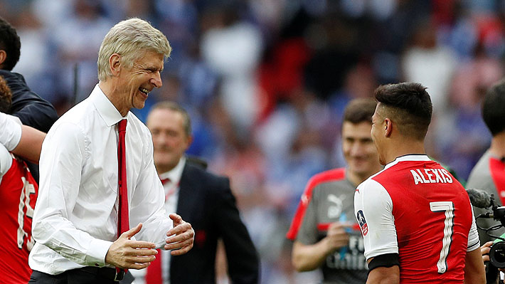 Wenger insiste en que Alexis no se irá a otro club de la Premier y que se quedará en el Arsenal