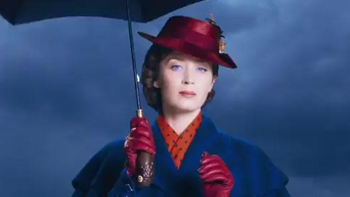 """Revelan nuevas imágenes del esperado filme """"El regreso de Mary Poppins"""""""