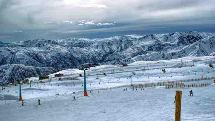Valle Nevado es uno de los mejores centro de ski de América del Sur