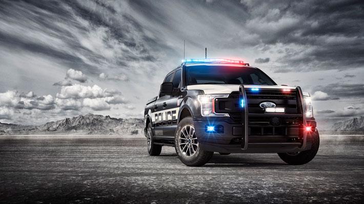 La Ford F-150 es calificada apta para persecuciones policiales