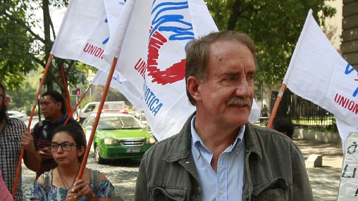 Unión Patriótica inscribe candidatura presidencial de Eduardo Artés ante el Servel