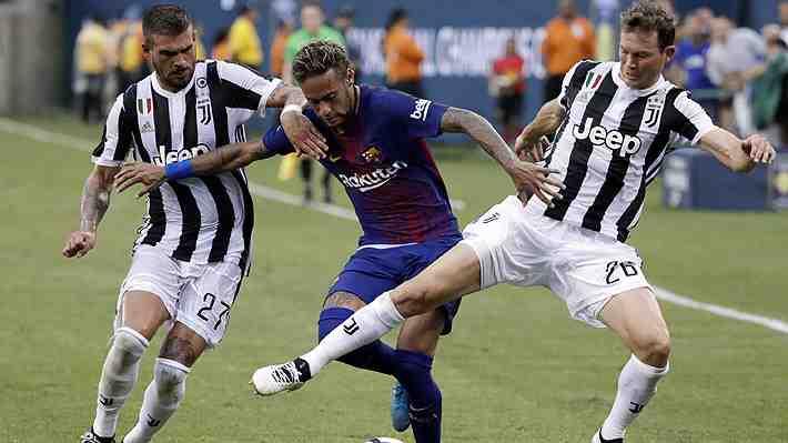 """El espectacular y """"maradoniano"""" golazo de Neymar a la Juventus: Burló a 5 rivales en unos segundos"""