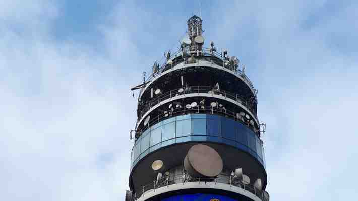 [VIDEO 360°] Sube a la cúspide de la Torre Entel y conócela por dentro