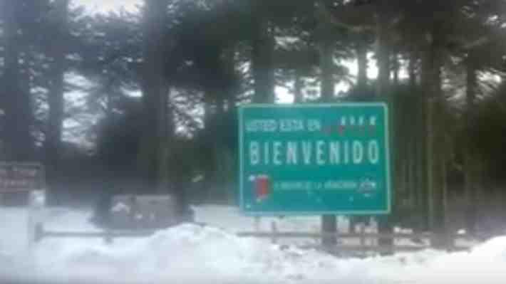 Argentino se queja del estado de la ruta del lado de su país en frontera con Chile, ¿qué opinas?