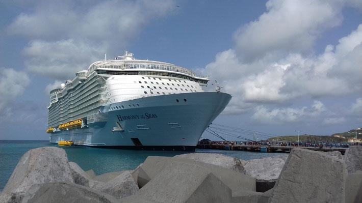 [VIDEO 360°] Mira cómo es crucero más moderno y tecnológico del mundo