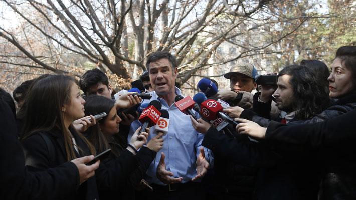 """Ossandón ante apoyo a Piñera: """"Yo cumplo mis compromisos y me voy a hacer a un lado"""""""