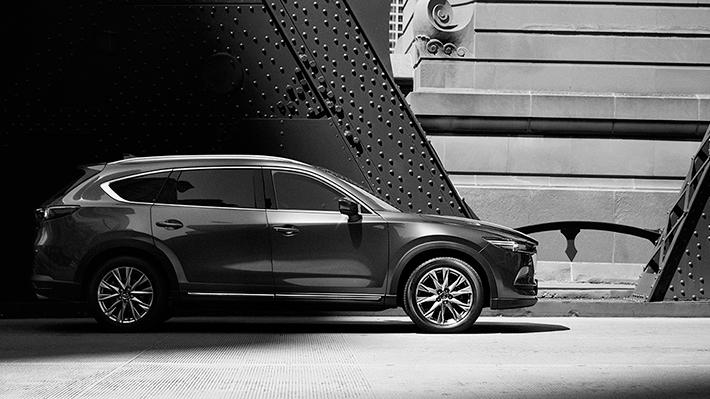 Mazda muestra a su nuevo SUV: el CX-8
