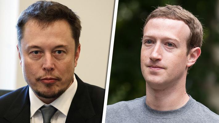 Elon Musk y Mark Zuckerberg enfrentados ante los posibles peligros de la inteligencia artificial