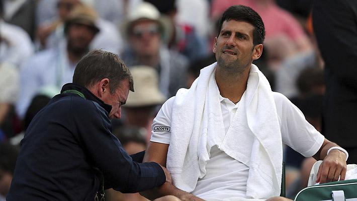 Duro golpe al circuito: Djokovic confirma que no jugará más este 2017 por lesión