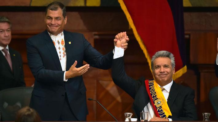 Del amor al odio: El inesperado quiebre entre Rafael Correa y el actual Presidente de Ecuador