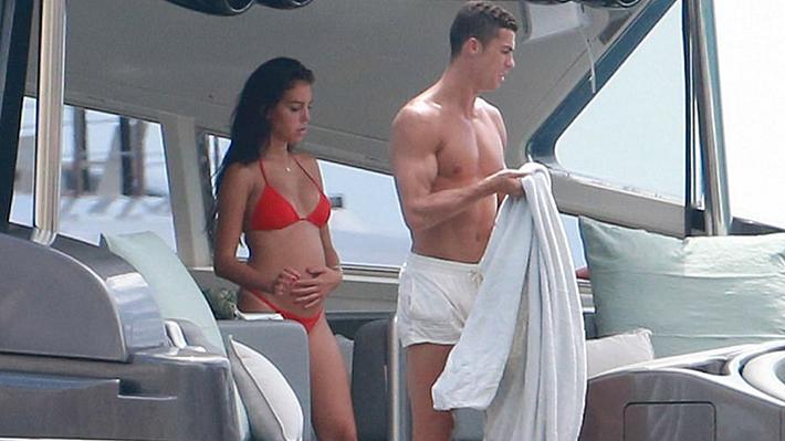 Medios internacionales confirman el embarazo de la novia de Cristiano Ronaldo