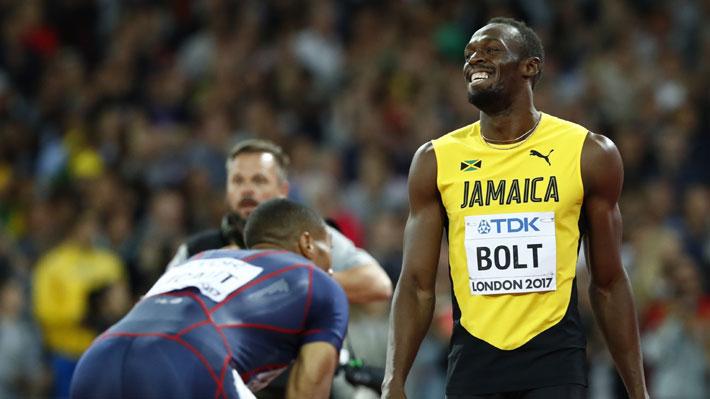 Mira la espectacular carrera en la que Usain Bolt perdió dramáticamente el oro en el Mundial de Londres