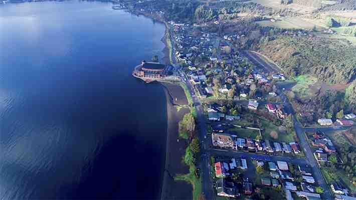 [VIDEO 360°] Teatro del Lago, una de las obras arquitectónicas más hermosas de Chile