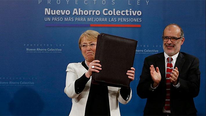 Pensiones: Presidenta explica los cuatro beneficios que traería el nuevo sistema de ahorro colectivo