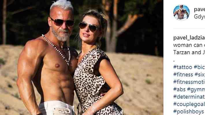 ¿El doble de Gianluca Vacchi? Hombre de 35 años avejenta su look para ganar más seguidores en redes