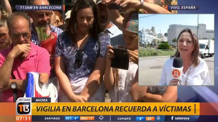 Mónica Pérez sorprende como corresponsal para Canal13 desde Barcelona tras polémica en TVN