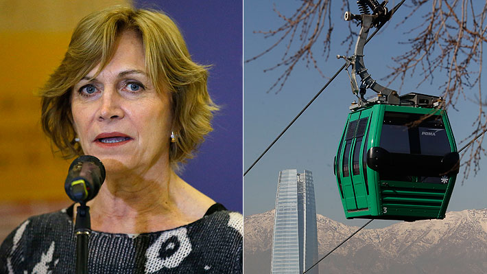 Expertos enjuician el proyecto Teleférico Bicentenario al que Matthei se opone
