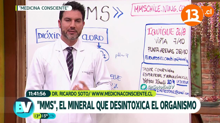 """Médico panelista de """"Bienvenidos"""" es nuevamente denunciado ante el CNTV por sus recomendaciones"""