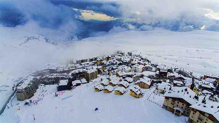 [VIDEO 360°] Así se viven las últimas semanas de la temporada de nieve en La Parva