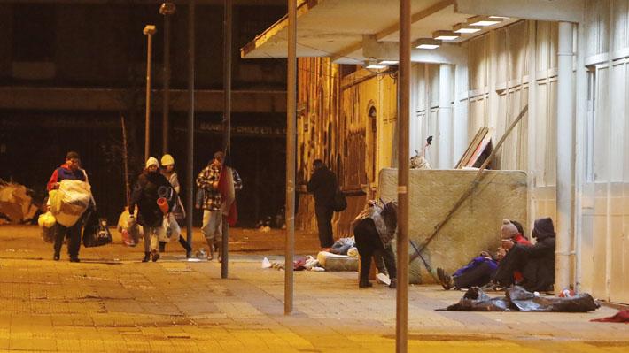 Estudio del Gobierno identificó a más de 10 mil personas en situación de calle: La mayoría llegó por problemas familiares