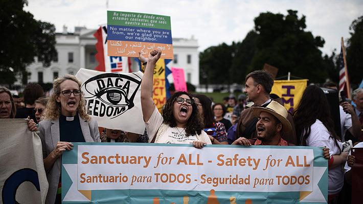 Trump anula programa que protegía de la deportación a inmigrantes menores de edad