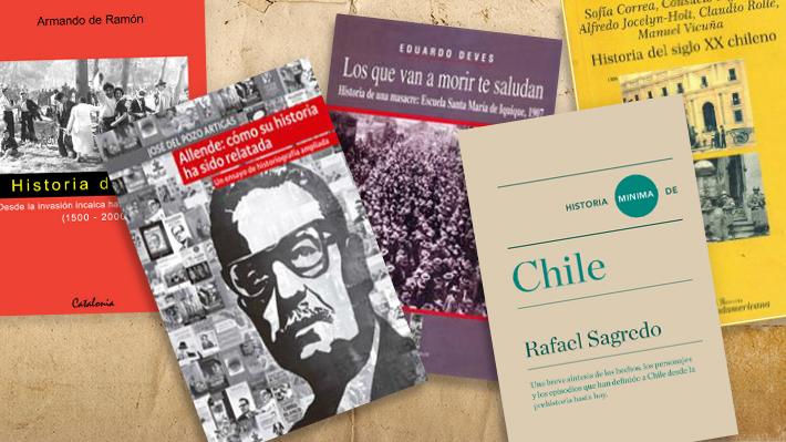 Más allá de Baradit: Los mejores libros sobre historia de Chile según los historiadores
