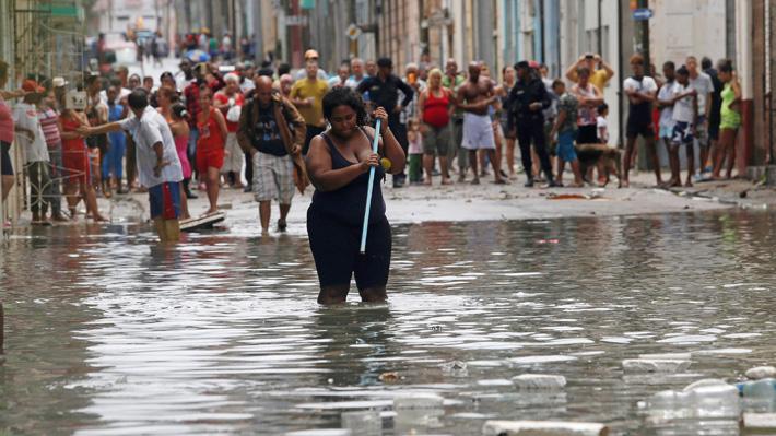 Gobierno de Cuba confirma la muerte de 10 personas por paso del huracán Irma