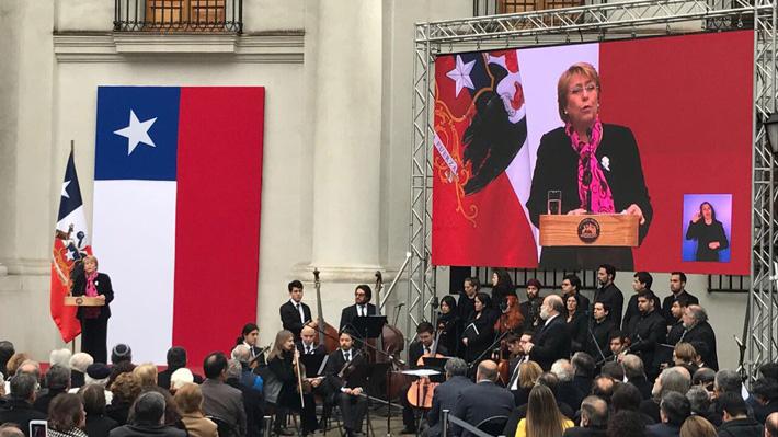 """Presidenta tras tenso Tedeum evangélico: """"Quienes no respetan la diversidad de miradas no contribuyen"""""""