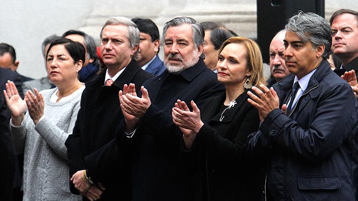Candidatos de centro izquierda apoyan iniciativa de levantar secreto a Comisión Valech I y respaldan a Bachelet tras Tedeum