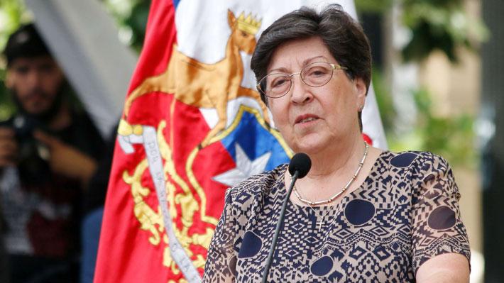 """Carmen Frei critica a ministro Fernández: """"Supuesta falta de información que el Ejército ha aducido ha quedado desmentida"""""""